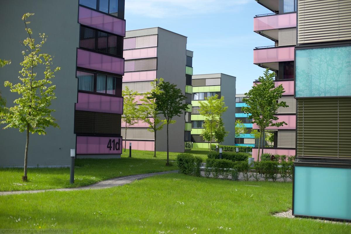 New development in industrial quarter, Winterthur