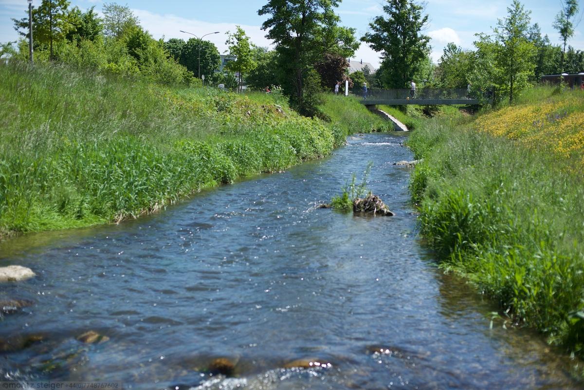 River Seulach in Winterthur