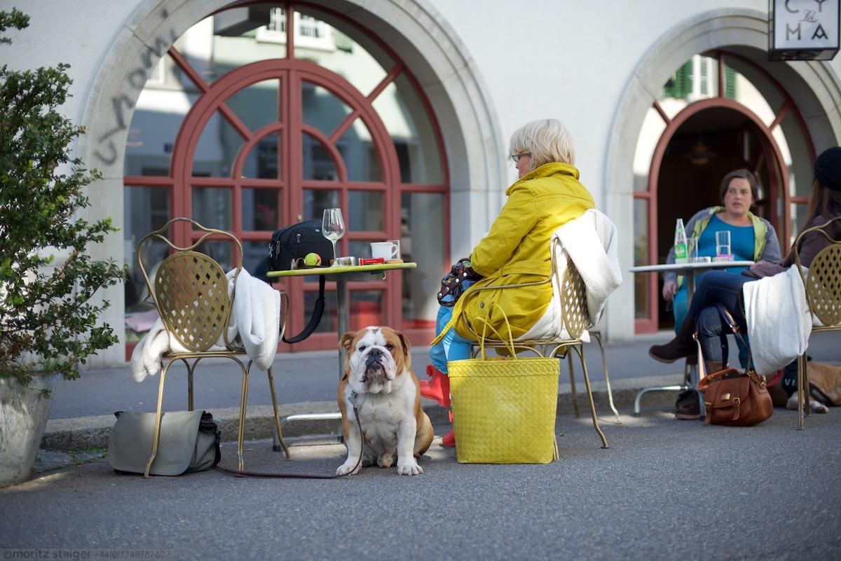 We met up with Janine in Winterthur