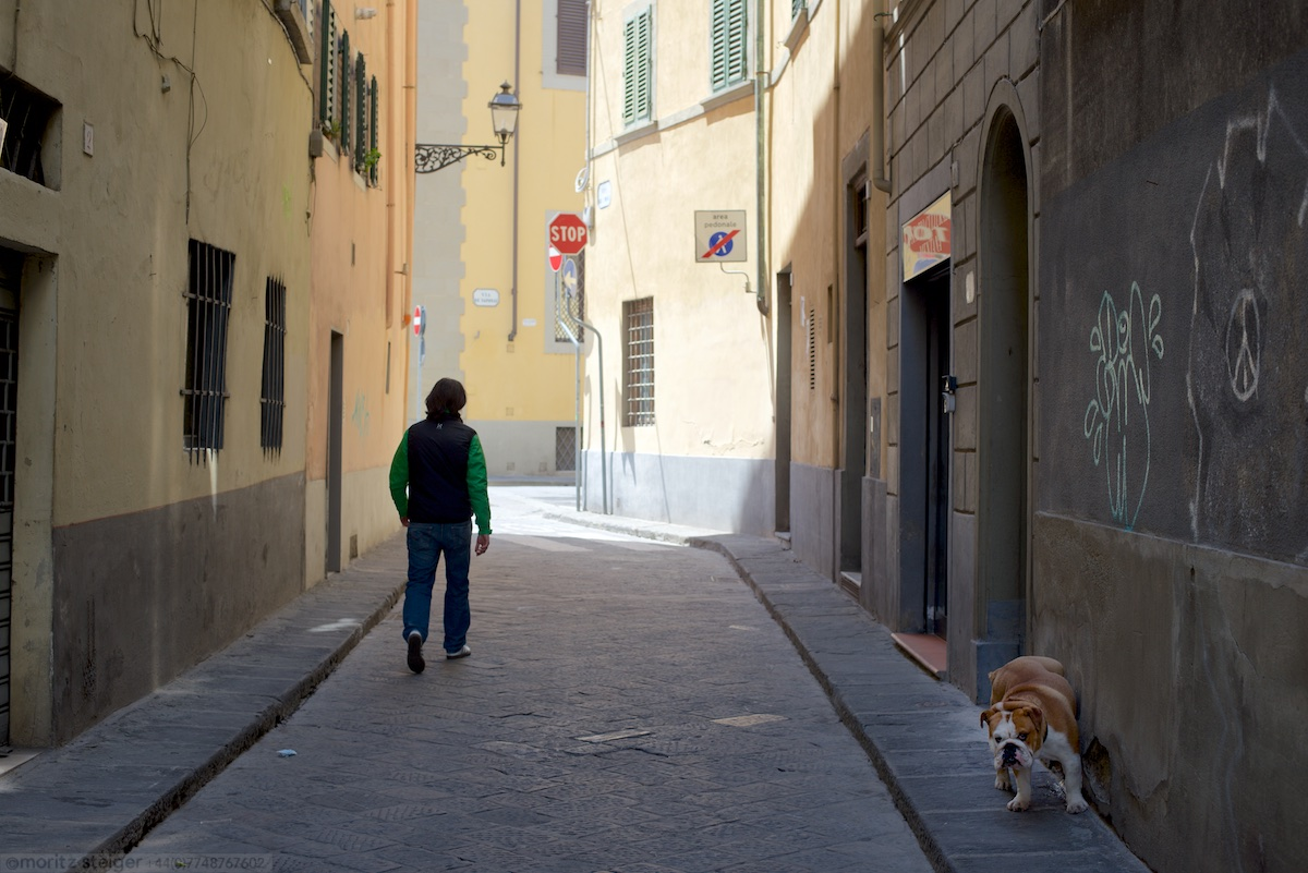 Rudy making his mark in Florence
