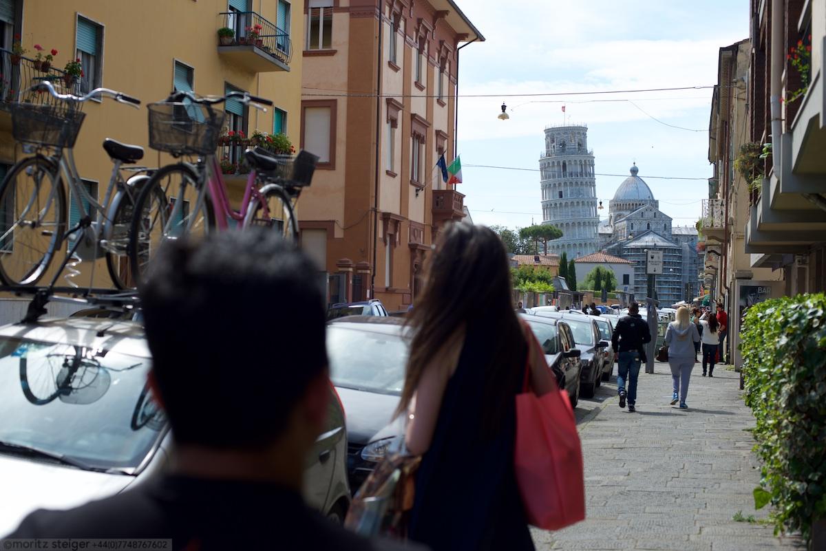We must be in Pisa!