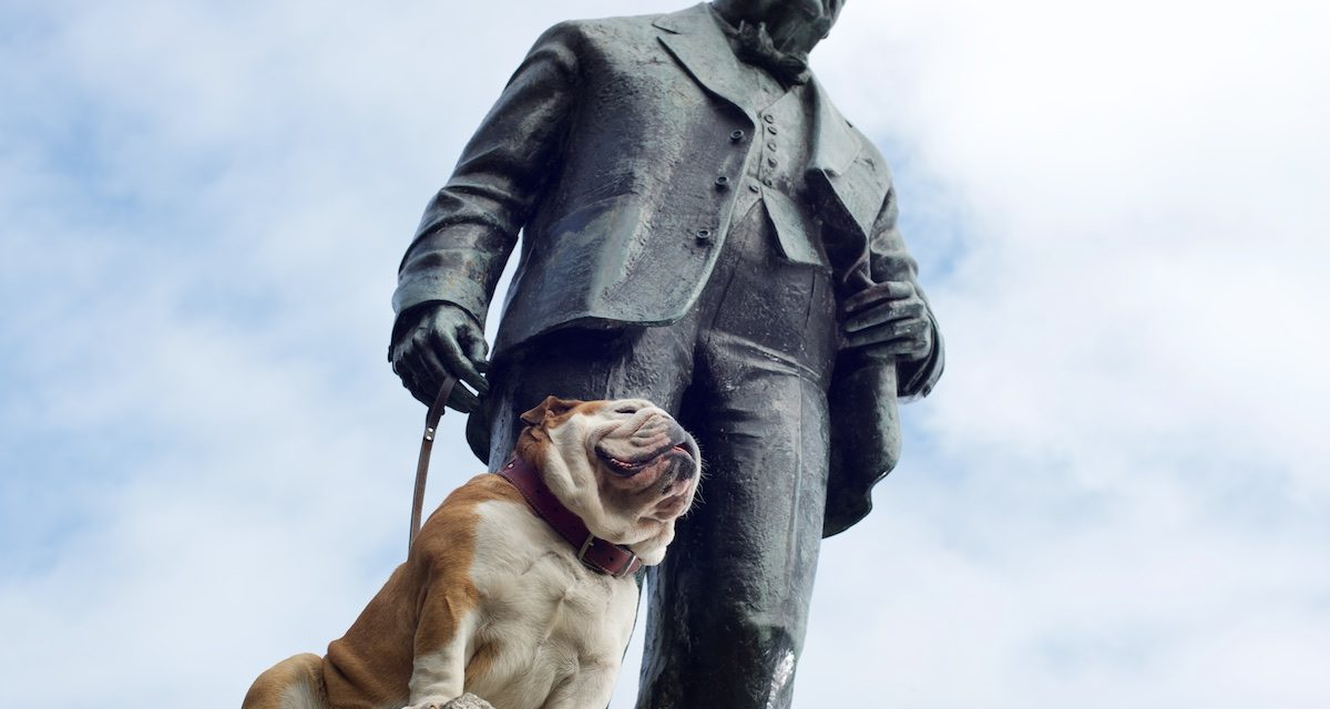 The day i walked Churchill