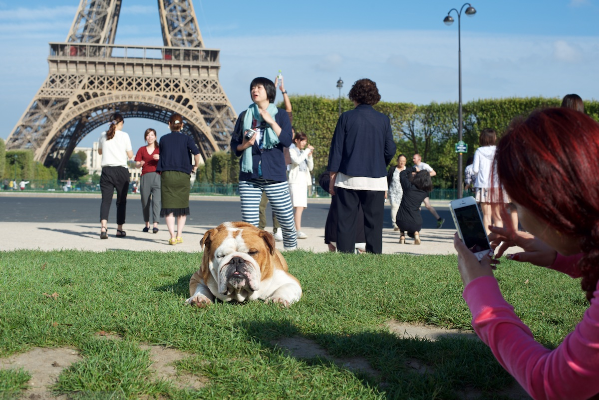 Rudy in front Eiffel Tower