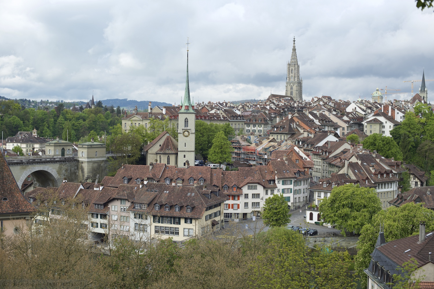 Near the Rosengarten over looking Bern