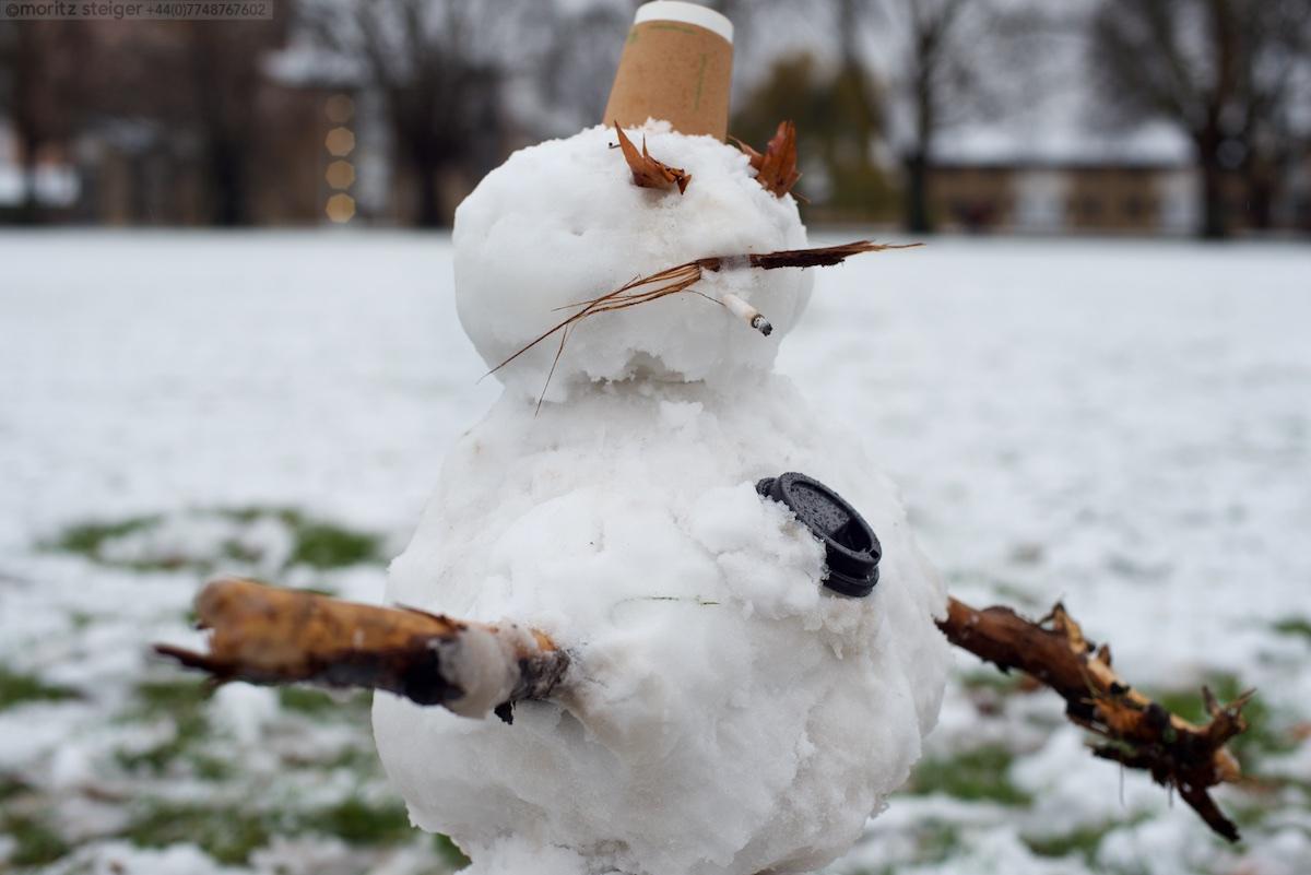 Hackney Snowman