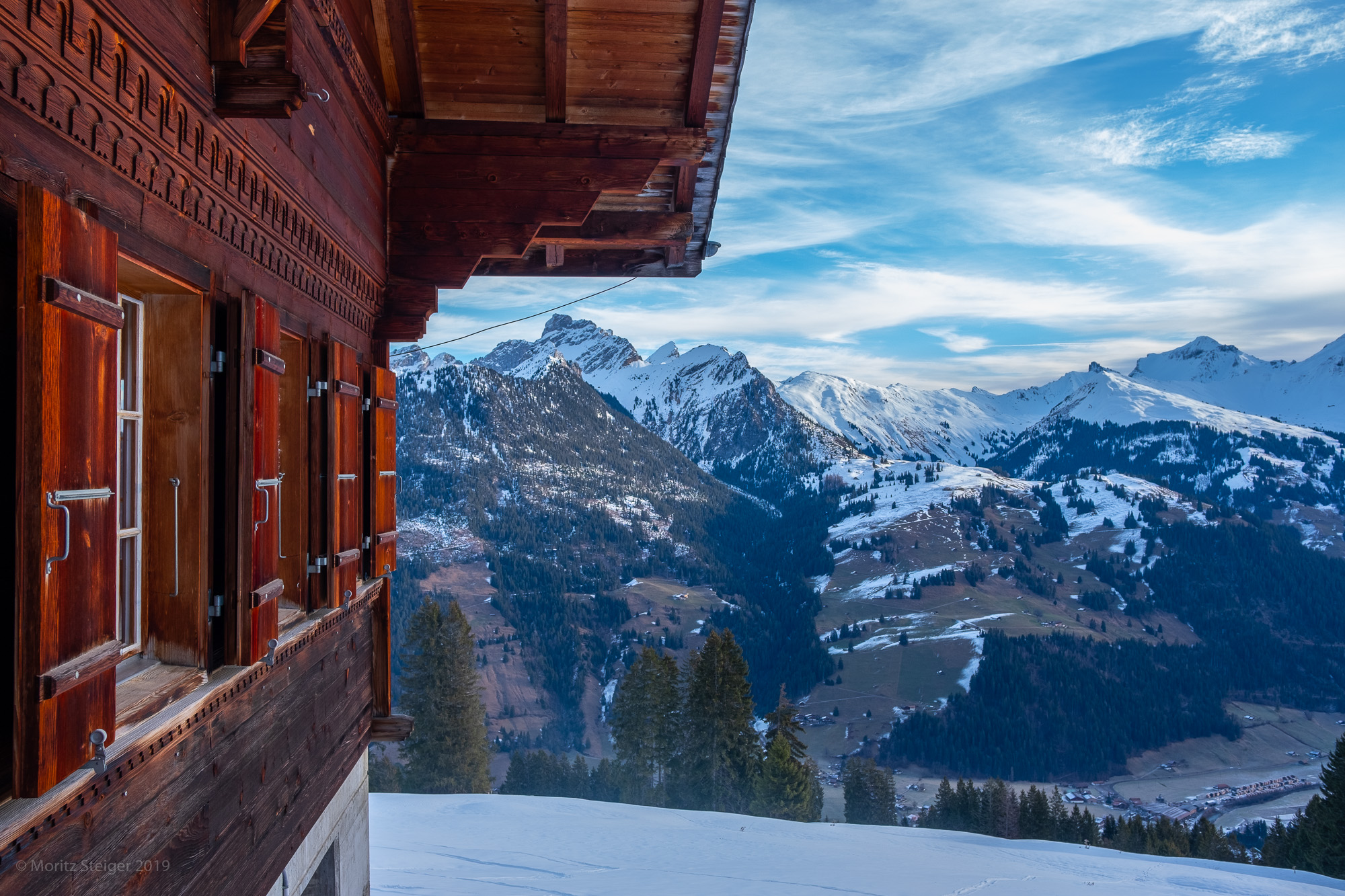 Chalet, Bernese mountains